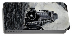 Mountain Train Portable Battery Charger