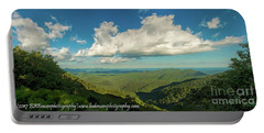 Mountain View From Preachers Rock Portable Battery Charger