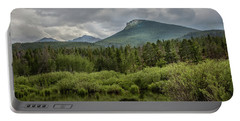 Mountain View From The Marsh Portable Battery Charger