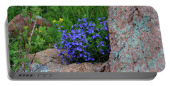 Portable Battery Charger featuring the photograph Mountain Wildflowers by Shane Bechler