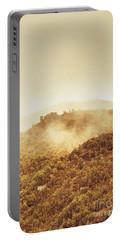 Mountainous Tasmanian Mist Portable Battery Charger