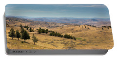Mountainous Terrain In Central Oregon Portable Battery Charger