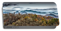 Portable Battery Charger featuring the photograph Mountains 2 by Walt Foegelle
