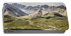 Mountains In Denali National Park Portable Battery Charger