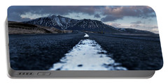 Mountains In Iceland Portable Battery Charger