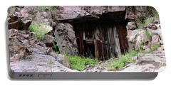 Portable Battery Charger featuring the photograph Mountainside Bungalow by Natalie Ortiz