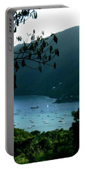 Mountainside Coral Bay Portable Battery Charger by Robert Nickologianis