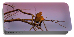 Mourning Doves Portable Battery Charger