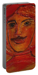 Moustached Prince Portable Battery Charger