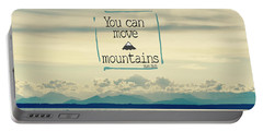 Move Mountains Portable Battery Charger