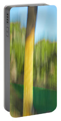 Moving Trees 32 Portrait Format Portable Battery Charger