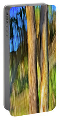 Moving Trees 33 Portrait Format Portable Battery Charger