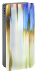 Moving Trees 34 Portrait Format Portable Battery Charger