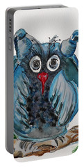 Mr. Blue Owl Portable Battery Charger