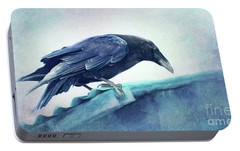 Mr. Bluebird Portable Battery Charger by Priska Wettstein