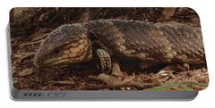 Portable Battery Charger featuring the photograph Mr Bobtail II by Cassandra Buckley