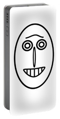 Mr Mf Has A Smile Portable Battery Charger