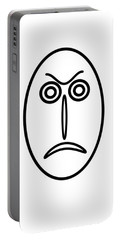 Mr Mf Is Angry Portable Battery Charger