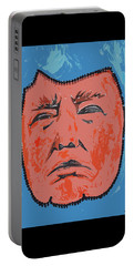Portable Battery Charger featuring the painting Mr. President by Robert Margetts