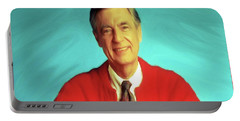 Mr Rogers With Trolley Portable Battery Charger