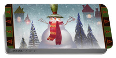 Mr. Snowman Portable Battery Charger