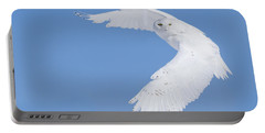 Mr Snowy Owl Portable Battery Charger