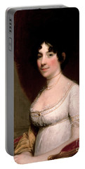 Mrs Dolley Madison, 1804 Portable Battery Charger