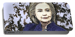 Mrs Hillary Clinton Portable Battery Charger