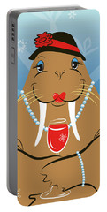Mrs. Walrus Portable Battery Charger