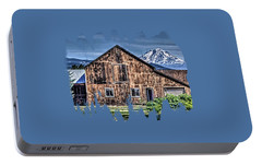 Portable Battery Charger featuring the photograph Mt. Adams by Thom Zehrfeld