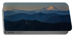 Mt. Baker From Mt. Pilchuck Portable Battery Charger