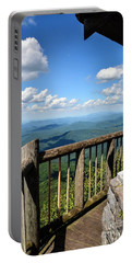 Mt. Cammerer Portable Battery Charger by Debbie Green
