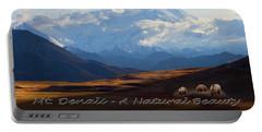 Mt. Denali National Park Portable Battery Charger