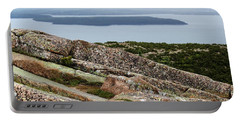 Mt. Destert Island View Portable Battery Charger