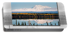 Portable Battery Charger featuring the photograph Mt. Drum - Alaska by Juergen Weiss