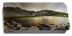 Mt. Evans Summit Lake Portable Battery Charger