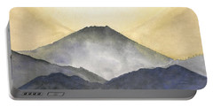 Mt. Fuji At Sunrise Portable Battery Charger