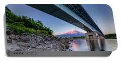 Mt Fuji - Under The Bridge Portable Battery Charger