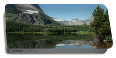 Mt. Grinnell Across Red Rock Lake Glacier National Park Portable Battery Charger