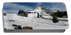 Mt. Hood In June Portable Battery Charger