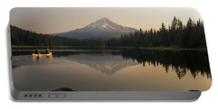 Mt Hood Sunrise  Portable Battery Charger