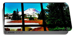 Mt. Hood View Portable Battery Charger
