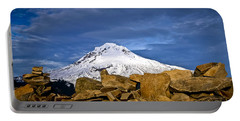 Mt Hood With Talus Portable Battery Charger