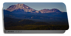 Mt Lassen And Chaos Crags Portable Battery Charger