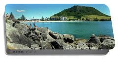 Mt Maunganui Beach 11 - Tauranga New Zealand Portable Battery Charger