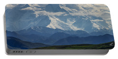 Portable Battery Charger featuring the photograph Denali by Gary Lengyel