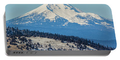 Portable Battery Charger featuring the photograph Mt. Mcloughlin by Marc Crumpler