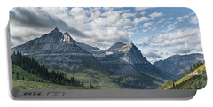 Mt. Oberlin From Logan Pass Portable Battery Charger