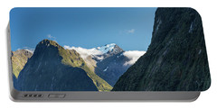 Portable Battery Charger featuring the photograph Mt Pembroke Glacier by Gary Eason