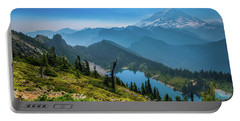 Mt. Rainier And Eunice Lake Portable Battery Charger
